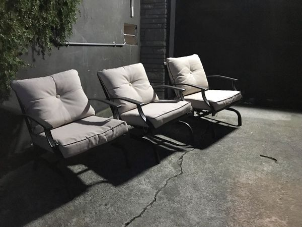 3 Outdoor Patio Chairs Furniture In Seattle Wa Offerup
