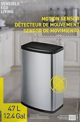 Image Is Loading Eko Sensible Eco Living Motion Sensor Trash Can