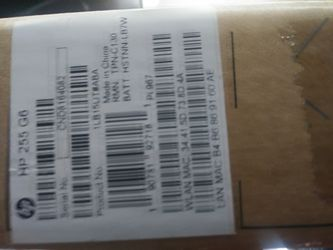 Hp255 g5 note book BRAND NEW Thumbnail