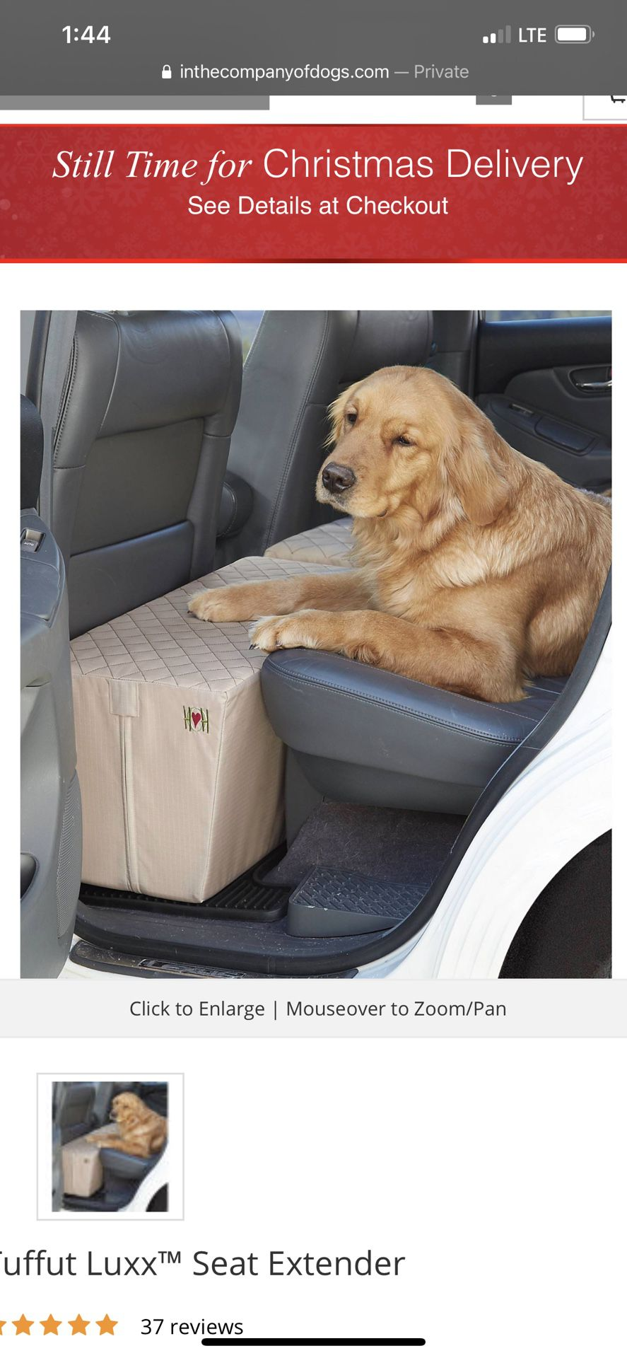 Back Seat Spacer For Pet