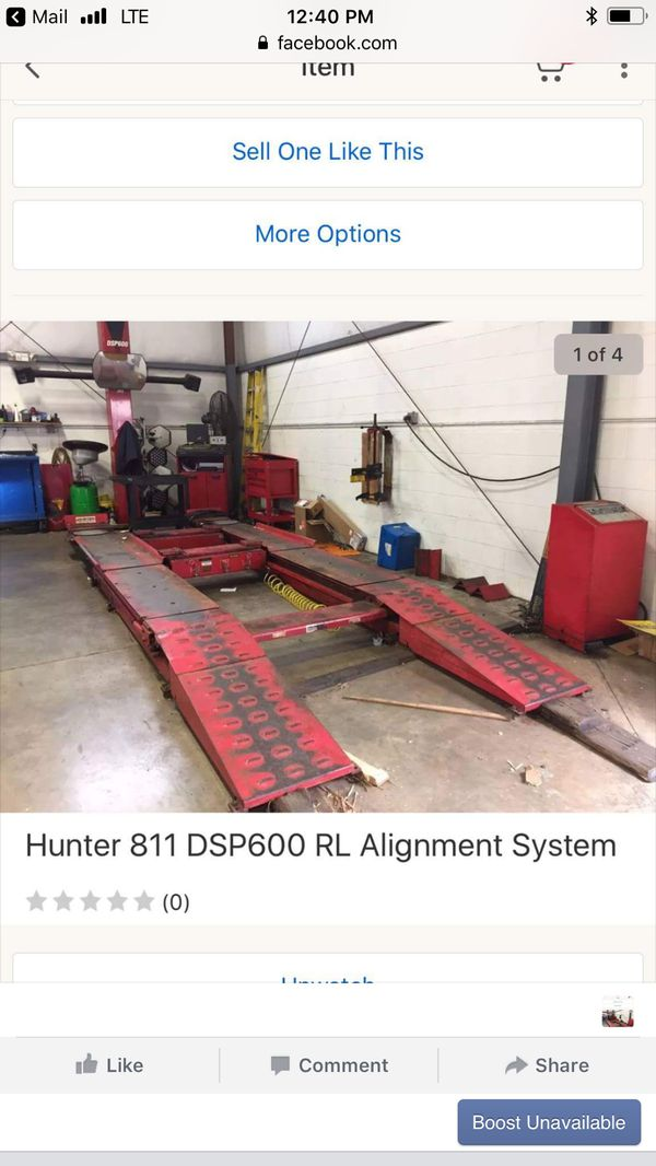 Hunter Alignment Rack >> Hunter Wheel Alignment Rack And Camera Aligner Computer For Sale In