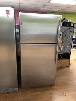 Stainless Steel GE Top Freezer Refrigerator for Sale in Woodbridge, VA