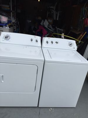 Whirlpool Washer and dryer set for Sale in New Port Richey, FL