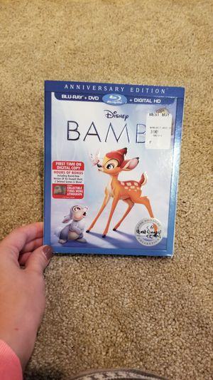 NWT Bambi Anniversary Blu Ray+DVD+Digital for Sale in North Plains, OR