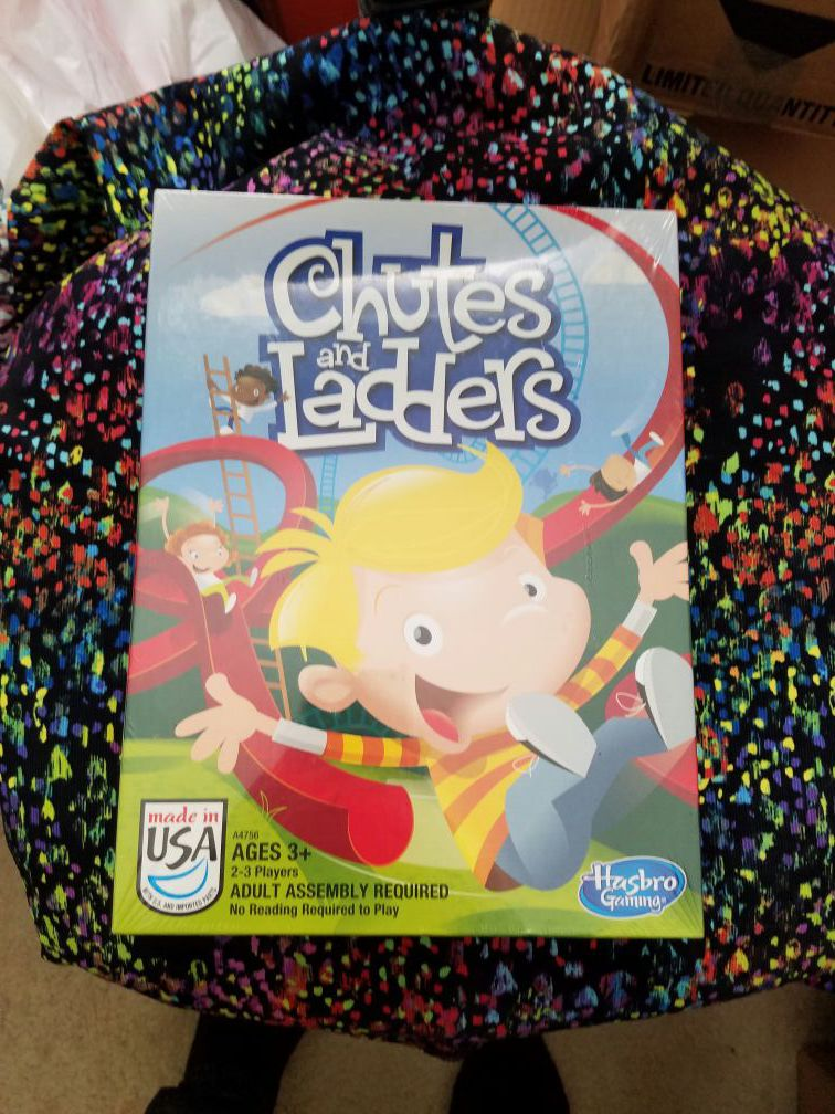 Chutes and ladders Hasbro Game