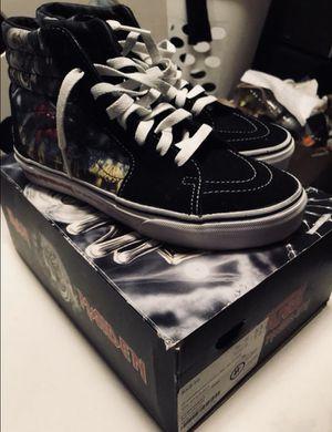 b9e8f0908f Vans sk8 hi s Iron Maiden collectors edition for Sale in Portland