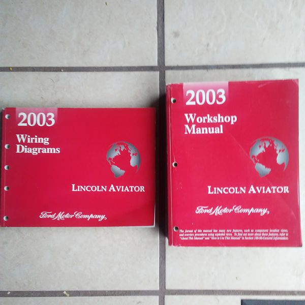 2003 Lincoln Aviator Service Workshop Manual And Wiring Diagram