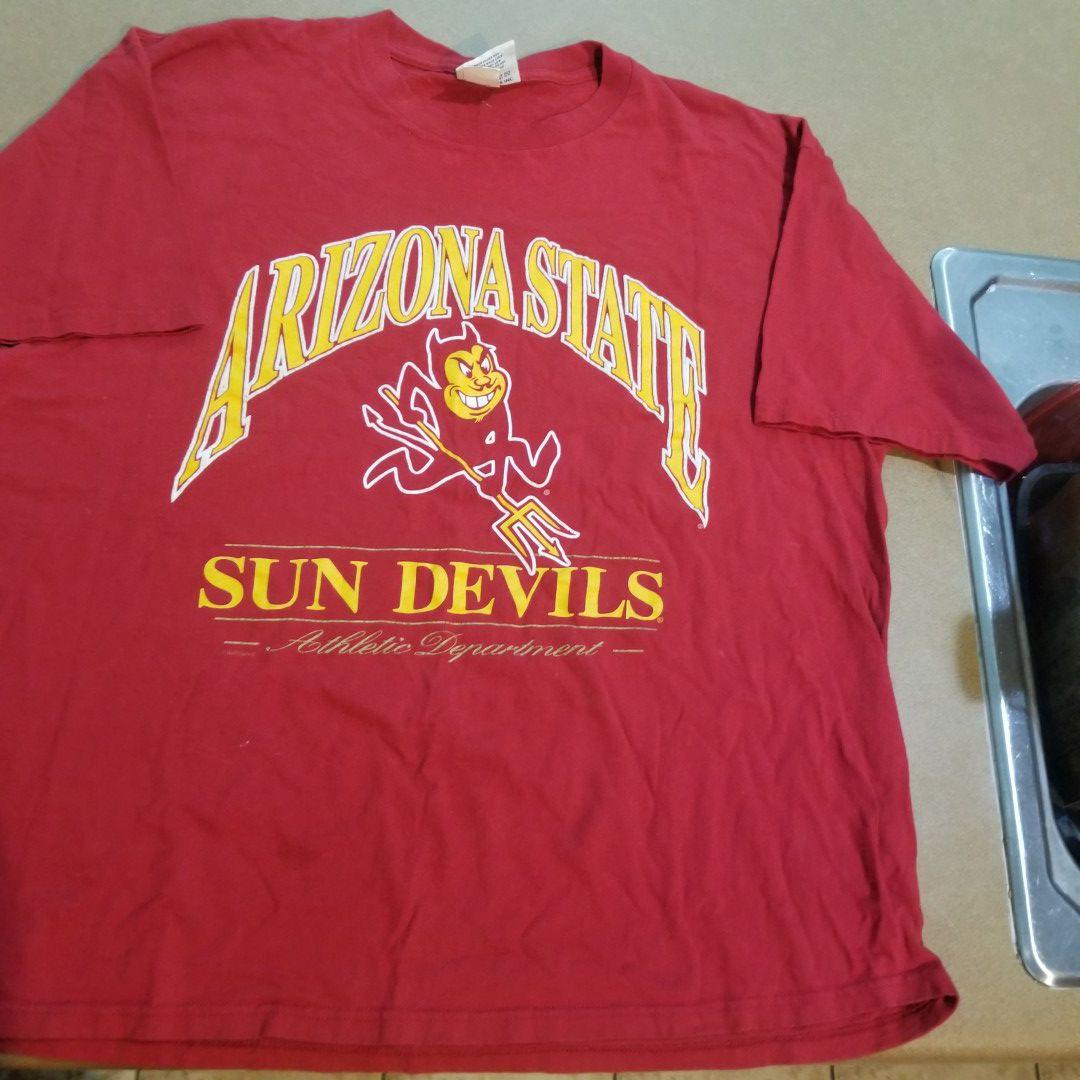 Vintage arizona sun devils shirt