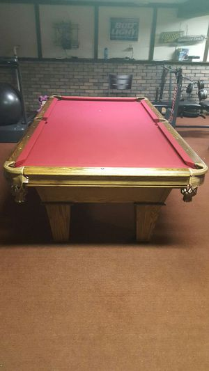 Ft Brunswick Billiards Pool Table Set Up Available For Sale In - Pool table movers madison wi