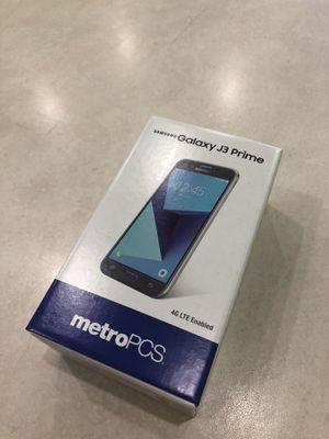 Samsung galaxy j3 prime metropcs for Sale in San Diego, CA
