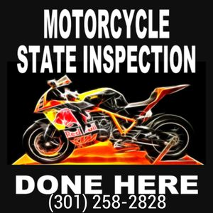 Maryland Motorcycle Inspection Service for Sale in Gaithersburg, MD