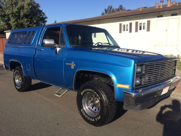 1984 chevy k10 short bed