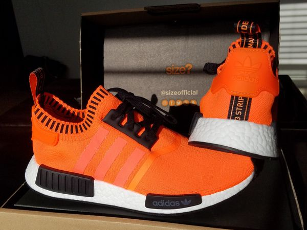 1403fe6795466 Adidas NMD R1 Orange Noise size  Exclusive AC8171 for Sale in Irvine ...