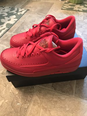 Photo Air Jordan 2 Retro Low- Gym Red/ University Red