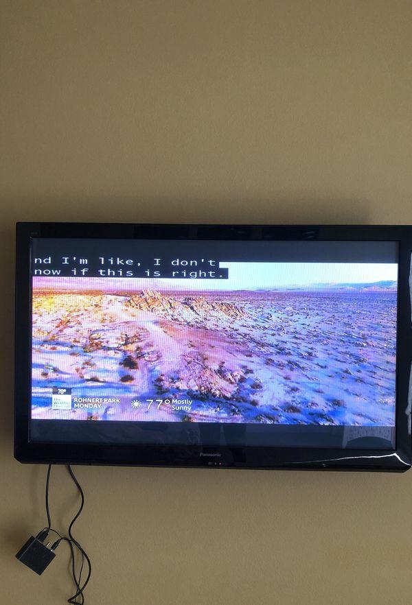 "Panasonic viera 60"" smart tv for Sale in Santa Rosa, CA - OfferUp"
