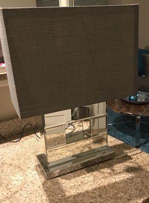 Gray mirror lamp for Sale in Richmond, VA