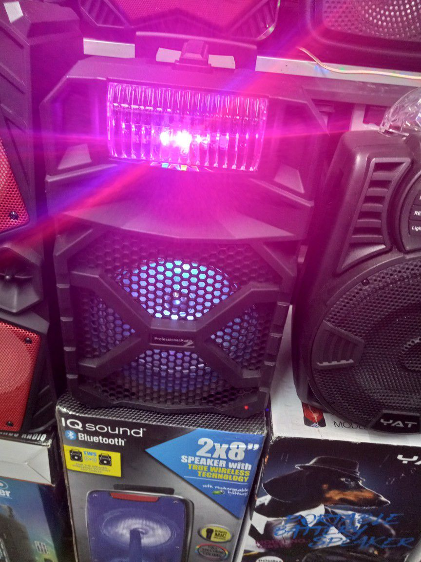 BLUETOOTH RECHARGEABLE SPEAKER 🔊 WITH EXTRA BASS AND MICROPHONE 🎤 👌