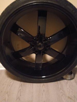 Photo Custom 26 inch black rims