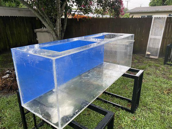 180 gallon acrylic aquarium tank for Sale in Fort ...