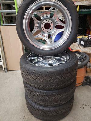 Photo Nitto NT 420S Tires w/Element Alloy Wheels