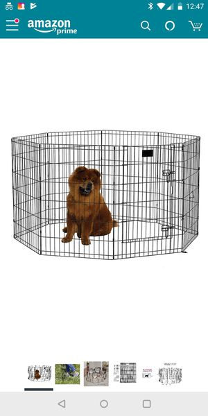 Midwest Exercise Pen for kids/pets. 36 inches/3ft height with door for Sale in Takoma Park, MD