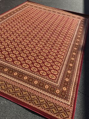Brand new bokhara design area rug size 8x11 nice red carpet Persian style rugs and carpets for Sale in Fairfax Station, VA