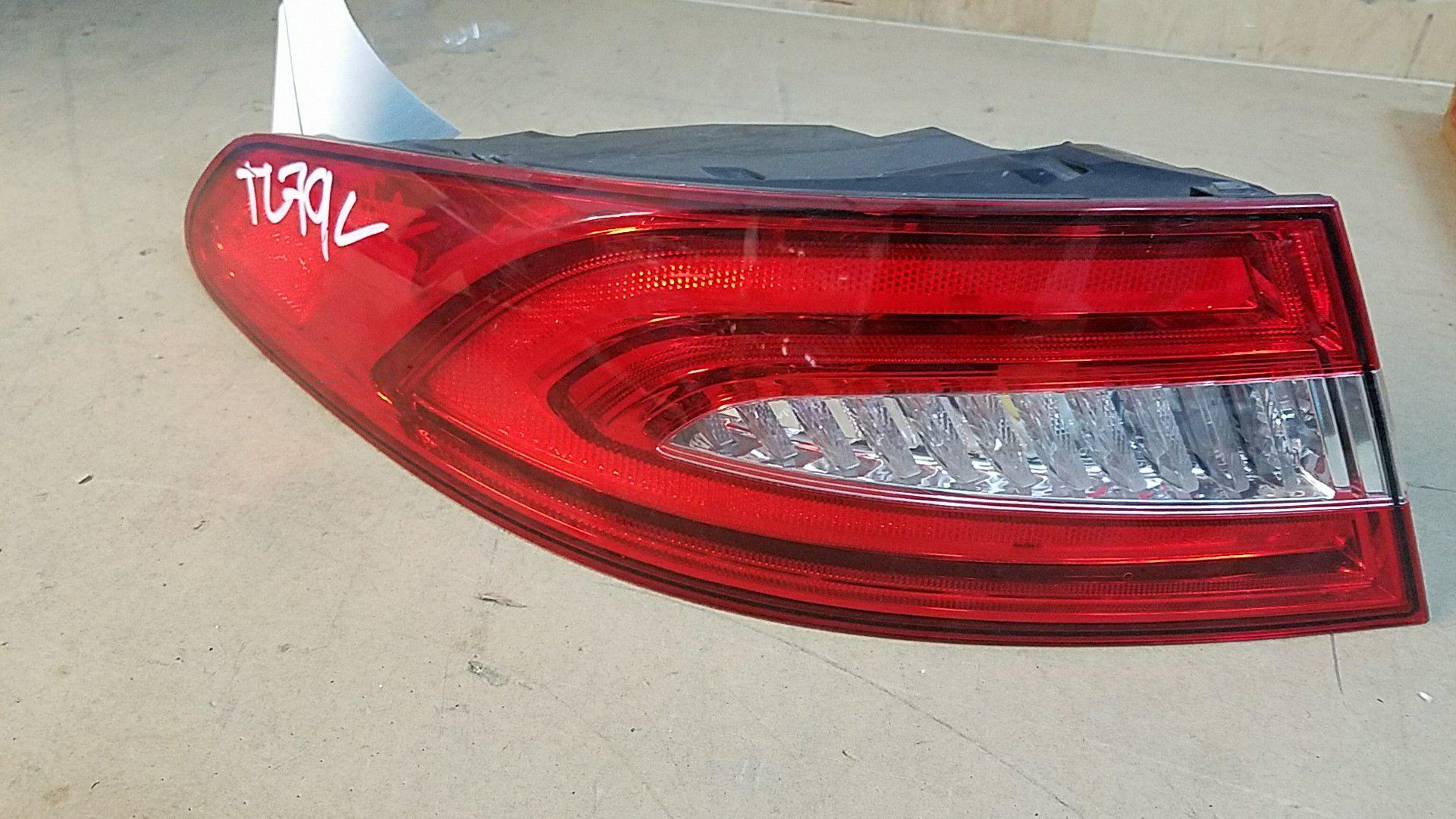 Jaguar XF left taillight 2012