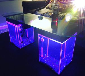 AquaTables - Aquarium Fish Tank Coffee/End Tables/TV Stand-4 living room,sofa,sectional,bed,chair,rug,carpet,desk,recliner for Sale in Washington, DC