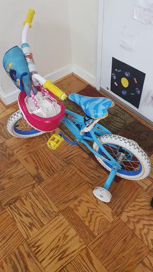 "Huffy - 12"" finding dory bike with pink helmet for Sale in Arlington, VA"