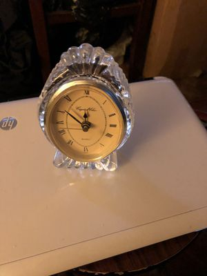 Vintage Crystal housing and clock antique for Sale in Brooklyn, NY