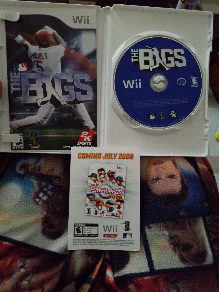 The Bigs Nintendo Wii