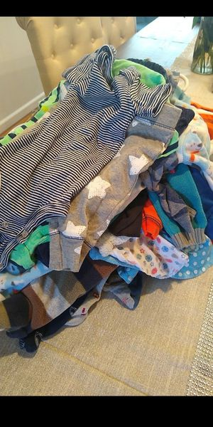 Photo Lot of Baby boy NB New Born and 0-3 month clothes over 50 items total one price Baby boy wordrobe