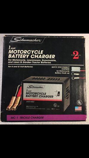 Schumacher MC-1 6/12 Volt Manual Trickle Battery Charger for Sale in Azalea Park, FL