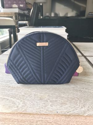 Cle de Peau makeup bag | navy with gold hardware for Sale in Dallas, TX