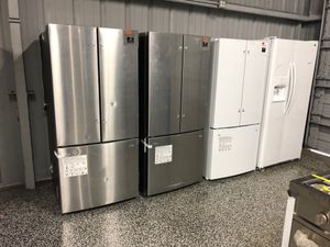 Photo EARLY BLACK FRIDAY! Samsung Refrigerator Fridge Stainless Steel White #794