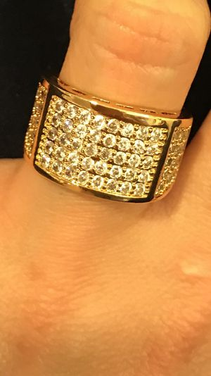 Unisex 18K Gold plated Ring for Sale in Boston, MA