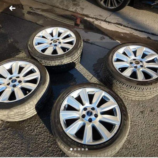 20 Inch Range Rover Rims& Tires. 10 Spoke For Sale In