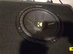 Kicker 10 comps. for Sale in Pajaro, CA