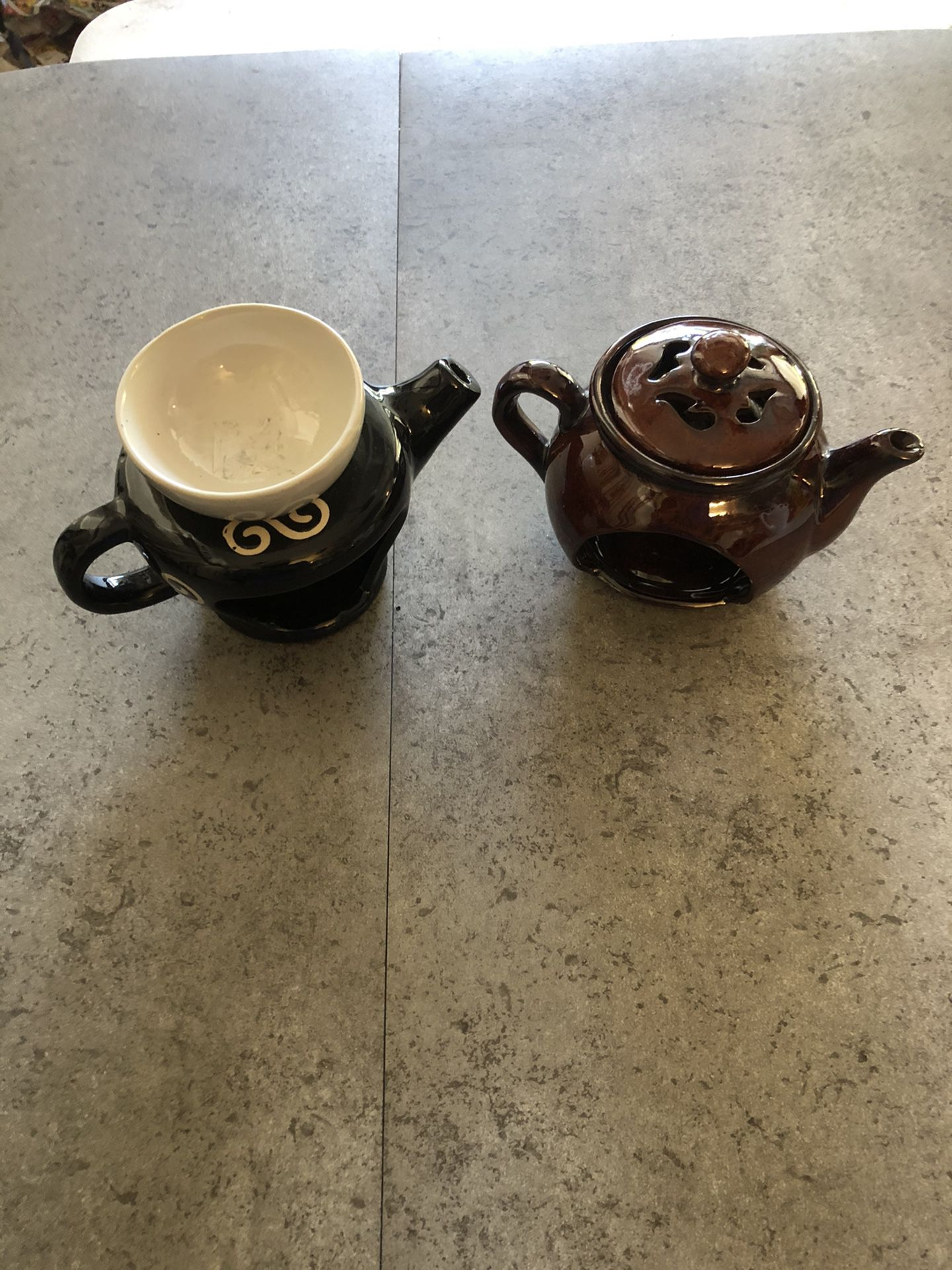 Incense and oil burners