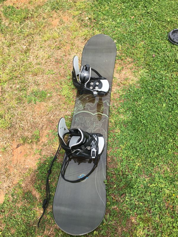 e1111d3a764 Morrow lithium 146 cm snowboard with bindings for Sale in Duncan