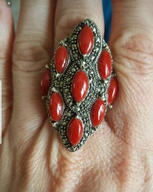 Antique silver ring size 8 for Sale in Alexandria, VA