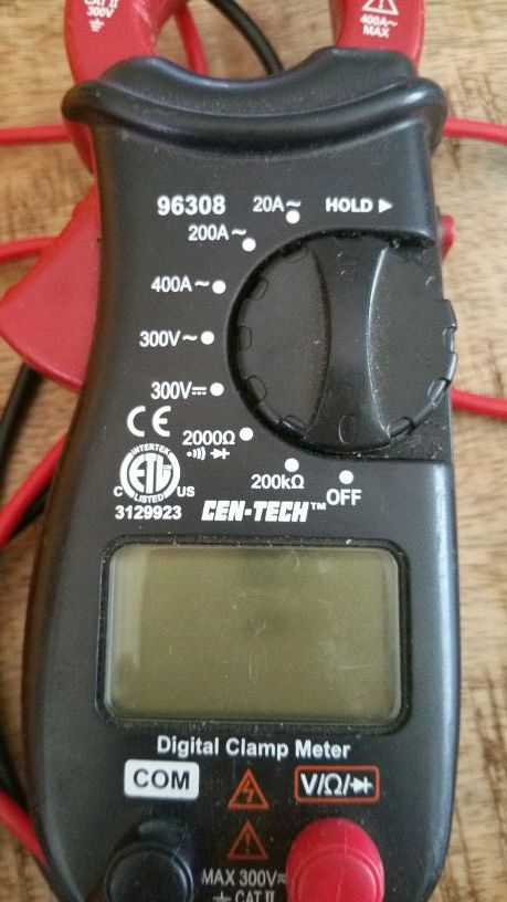 Voltage & Amp tester