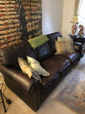 2 Black Living Room Sofas for Sale in Arlington, VA