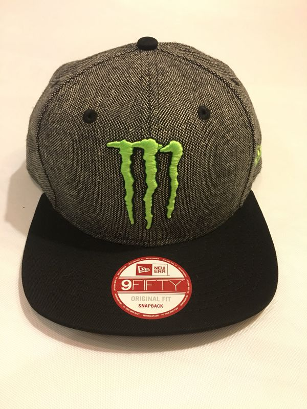 cb800476b New Era MONSTER ENERGY Athlete Hat for Sale in Palm Springs, CA - OfferUp