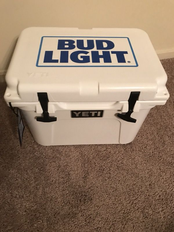 Bud Light Yeti Cooler