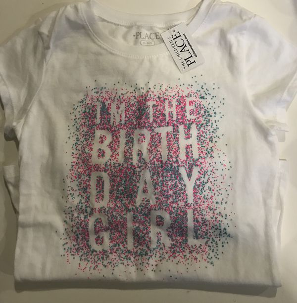 Birthday Shirt Size 5 6