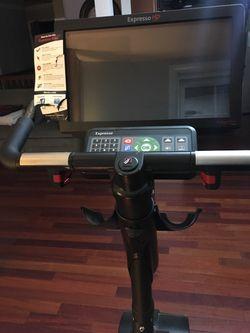 Expresso HD upright exercise bike EUC Thumbnail