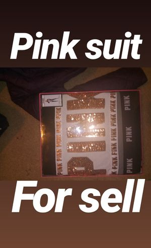 Victoria secret pink sweater suit for Sale in Washington, DC
