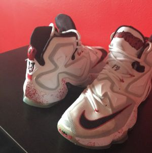 Nike Lebron 13s Friday the 13th Edition for Sale in Frederick, MD