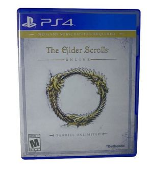 The Elder Scrolls Online: Tamriel Unlimited (Sony PlayStation 4, 2015) EUC for Sale in Houston, TX